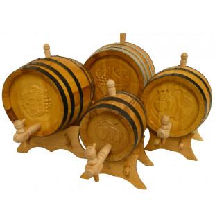 Hand-carved Barrel