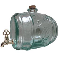 Glass barrel 2l